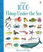 1000 Things Under the Sea - 1000 Pictures (Board book)