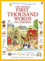 First Thousand Words in German - First Thousand Words (Paperback)