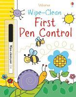 Wipe-clean First Pen Control - Wipe-Clean (Paperback)