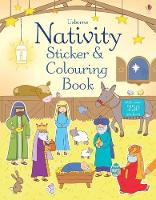 Nativity Sticker and Colouring Book - Sticker and Colouring Books (Paperback)