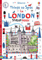 Things to spot in London Sticker Book (Paperback)