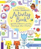 Little Children's Activity Book spot-the-difference, puzzles and drawing - Little Children's Activity Books (Paperback)