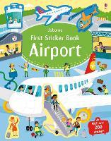 First Sticker Book Airport - First Sticker Books series (Paperback)