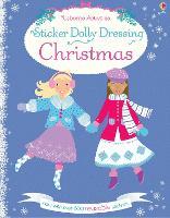 Sticker Dolly Dressing Christmas (Paperback)
