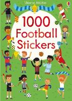 1000 Football Stickers - 1000 Stickers (Paperback)