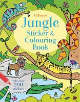 Jungle Sticker and Colouring Book - First Colouring Books with stickers (Paperback)
