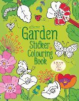 Garden Sticker and Colouring Book