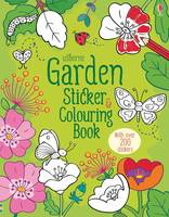 Garden Sticker and Colouring Book - Sticker & Colouring book (Paperback)