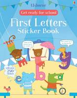 Get Ready for School First Letters Sticker Book - Get Ready for School Sticker Book (Paperback)