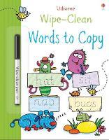 Wipe-clean Words to Copy - Wipe-Clean (Paperback)
