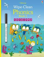 Wipe-Clean Phonics Book 1