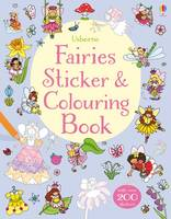 Fairies Sticker & Colouring Book - Sticker & Colouring book (Paperback)