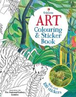 Art Colouring and Sticker Book - Art Books (Paperback)