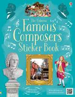 Famous Composers Sticker Book - Sticker Books (Paperback)