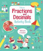Fractions and Decimals Activity Book - Maths Activity Books (Paperback)