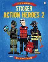 Sticker Action Heroes 2 - Sticker Dressing (Paperback)