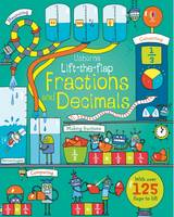 Lift-The-Flap Fractions and Decimals - Lift the Flap (Board book)