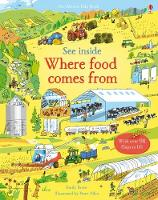 See Inside Where Food Comes From - See Inside (Board book)