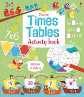 Times Tables Activity Book - Maths Activity Books (Paperback)