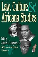 Law, Culture, and Africana Studies - Africana Studies (Paperback)