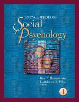 Encyclopedia of Social Psychology (Hardback)