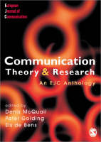 Communication Theory and Research (Paperback)