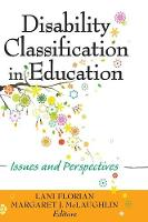 Disability Classification in Education: Issues and Perspectives (Hardback)
