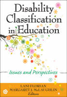 Disability Classification in Education: Issues and Perspectives (Paperback)