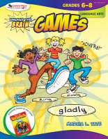Engage the Brain: Games, Language Arts, Grades 6-8 (Paperback)