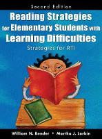 Reading Strategies for Elementary Students With Learning Difficulties: Strategies for RTI (Hardback)