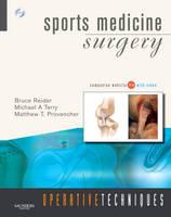 Operative Techniques: Sports Medicine Surgery: Book, Website and DVD - Operative Techniques (Hardback)