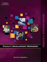 Faculty Development Companion Workbook: Teaching Online Module 9 (Paperback)