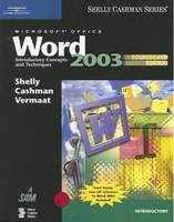 Microsoft Office Word 2003: Introductory Concepts and Techniques (Paperback)