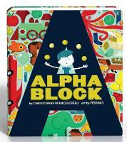 Alphablock (An Abrams Block Book) - An Abrams Block Book (Board book)