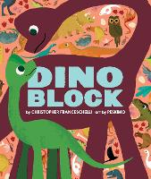 Dinoblock - Alphablock (Board book)