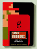 Super Mario Brothers Notebooks (Set of 3) (Paperback)