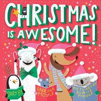 Christmas Is Awesome! (A Hello!Lucky Book) (Board book)
