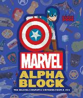 Marvel Alphablock: The Marvel Cinematic Universe from A to Z - An Abrams Block Book (Hardback)