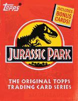 Jurassic Park: The Original Topps Trading Card Series - Topps (Hardback)