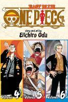 One Piece (Omnibus Edition), Vol. 2: Includes vols. 4, 5 & 6 - One Piece (Omnibus Edition) 2 (Paperback)