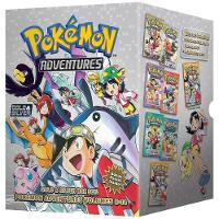 Pokemon Adventures Gold & Silver Box Set (Set Includes Vols. 8-14) - Pokemon Manga Box Sets (Paperback)
