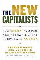 The New Capitalists: How Citizen Investors Are Reshaping the Corporate Agenda (Hardback)