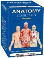 Anatomy Flash Cards: a QuickStudy reference tool
