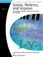 Scales, Patterns And Improvs - Book 1 (Paperback)