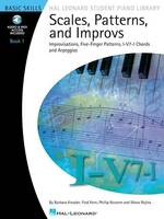 Scales, Patterns And Improvs - Book 1 (Book/Online Audio) (Paperback)