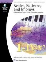 Scales, Patterns & Improvs - Book 2 (Book/Online Audio) (Paperback)