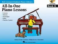 All-In-One Piano Lessons: Book B (Book/Online Audio) (Paperback)