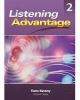 Listening Advantage 2: Text with Audio CD
