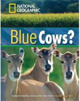 Blue Cows? + Book with Multi-ROM: Footprint Reading Library 1600