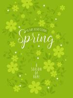 Spring: A Season of Hope 90-Day Devotional (Book)